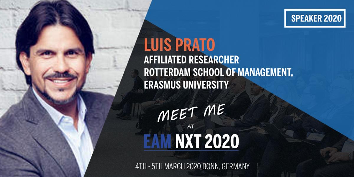 luis prato eam nxt 2020 speaker